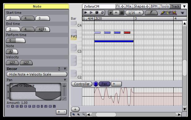 Angry Red Planet Temper MIDI szekvenszer